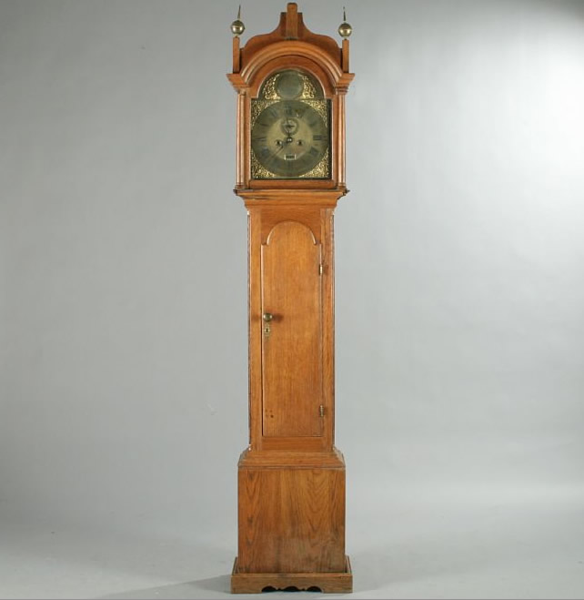 Antique english grandfather clock