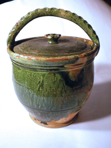 Antique maternity pot