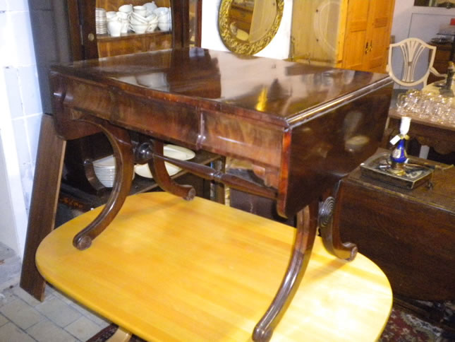 Beautiful mahogany salon table