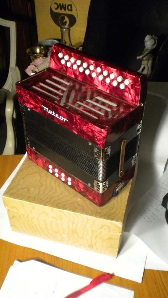 Accordion in orig. box